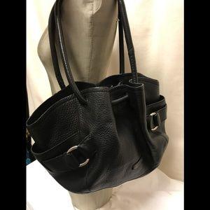 Cole Haan black shoulder bag